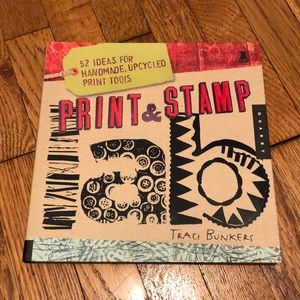 Print & Stamp Lab art book by Traci Bunkers